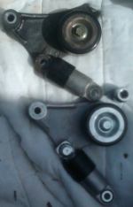Broken Tensioner Assembly